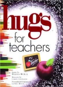 hugs teachers